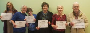 Graduates of the Whitesburg Be Boss Online training