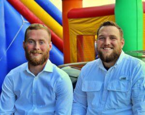 Daniel and Kagan Brainard, co-owners of Jumping Jacks